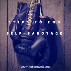 Kate Towell shares steps you can take to break free from self-sabotage.  Photo courtesy of Kate Towell.