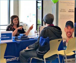 Community Transit is looking to hire dozens of new employees. Photo courtesy of Community Transit.