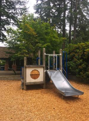 Heron Park play structure. Photo credit: Richard Van Winkle.