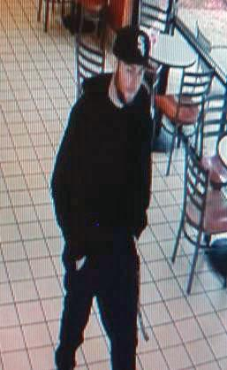 Mill Creek Police detectives seek the public's help in identifying the suspect in an armed robbery that occurred at the Mill Creek Baskin Robbins on Tuesday afternoon, May 29, 2018.