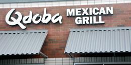 Mill Creek Qdoba Mexican Grill grand opening on November 26, 2012.