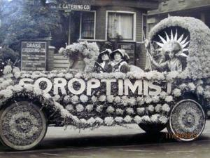 """Save the Redwoods"" was the first project taken on by the Soroptimist Club in 1921.  Photo courtesy of Soroptimist Archives."