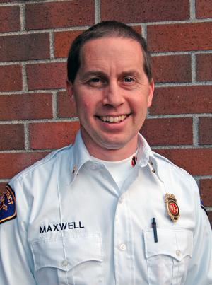 South County Fire Deputy Chief Shaughn Maxwell. Photo courtesy of South County Fire.