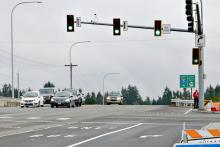 128th Street and I-5 in South Everett.  Photo courtesy of Community Transit.