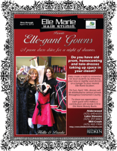 Elle Marie Hair Studio organizes annual prom dress drive making it easier for young ladies to enjoy a night of dreams.