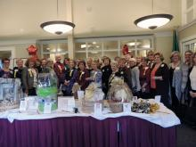 It takes a village to put together the Mill Creek Women's Club Auction. Photo courtesy of Mill Creek Women's Club.