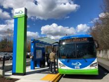 Community Transit will begin collecting fares for Swift Blue and Swift Green bus rapid transit lines on Monday, June 1st. Unlike other Community Transit bus routes, Swift riders pay fares at Swift stations, not at the front of the bus.
