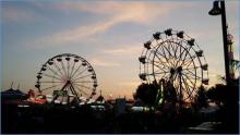 The Evergreen State Fair.  Photo courtesy of Community Transit.