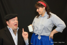 EDMONDS DRIFTWOOD PLAYERS WILL BE SLAYING AUDIENCES WITH LAUGHTER AT THEIR NEXT PRODUCTION OF DEATH BY CHOCOLATE.  February 20 through March 8, 2015.