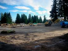 Construction has begun in Mill Creek's East Gateway Urban Village with a 24,000 square foot office/medical building.