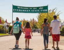 Whether you're working the lumberjack show, showing a prized pig or just craving a scone, Community Transit is the easiest way to get to the Evergreen State Fair. The 2017 Fair runs Thursday, August 24th, through Monday, September 4th, at the Evergreen State Fairgrounds in Monroe.