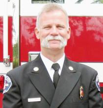 Gary Meek was appointed Fire District 7 Fire Chief at the February 28, 2013 Fire Board meeting. He has served as interim Fire Chief since 2011 when the previous chief retired.