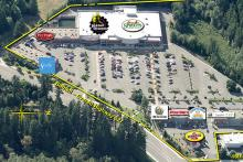 Aerial view of Gateway Shopping Center. Image courtesy of Kimco Realty.
