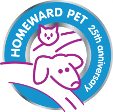 Homeward Pet Adoption Center celebrates their 25th anniversary month with a special adoption event on February 28, 2015.