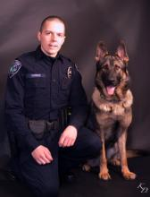 Mill Creek Police Officer Ian Durkee has finally begun his K-9 training, but with a two-year-old German Shepard named Roscoe instead of his previous dog Axel, according to Mill Creek Police Chief Bob Crannell.