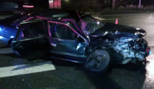 Mill Creek Police said that no one was injured in the two-car accident on Bothell-Everett Highway at 153rd Street SE in Mill Creek on Tuesday evening, March 25, 2014, at about 9 pm.