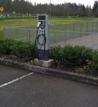 McCollum Park electric vehicle charging station