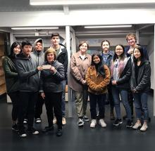 Everyone benefits by walking through a garden—it can calm or excite the senses. The North Creek High School Gardening Club, through a grant submitted by student, Joe Yamauchi, requested funds to create a Sensory Garden for the school's special-needs students.
