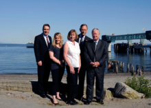 Jim Clarke, Arne Domas, and Dave Mitchell, Northwest natives and who prefer a view of the Olympics to an urban skyline, found Olympic Investment Group on the Edmonds waterfront.