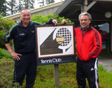 Brothers Roger and Byron Mark were finally able to close their Mill Creek Tennis Club purchase on Wednesday, September 10, 2014, for $1,550,000.