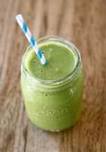 Kate believes drinking green smoothies daily helps people to lose weight, increase energy and kick cravings.