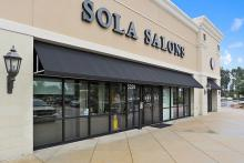 Sola Salon Studios (Sola), the premier location for established salon professionals, is pleased to announce commencement of construction on a new studio space in the Mill Creek Gateway Shopping Plaza. Scheduled for completion in early July, salon includes space for 36 private studios in three sizes.