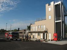 South Snohomish County Fire & Rescue training tower. Image courtesy of South Snohomish County Fire & Rescue.