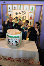 Sushi Zen recently celebrated their tenth year in business by hosting a huge party at their Mill Creek restaurant.