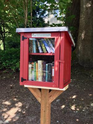 "If your neighborhood is interested in installing and maintaining a small library box, there is a lot of information out there about how to start one. Check out ""Little Free Libraries"" online. If one is started in your neighborhood, the Friends would be happy to provide the books for the startup and beyond if requested."