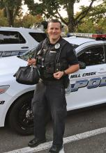 Long-time Mill Creek Police Officer Todd Bridgman began his new assignment as the Heatherwood School Resource Officer on October 1, 2019. After submitting his application in September he was selected by Chief Greg Elwin with input from the Everett School District.