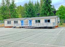 Just in time for the start of the 2019-2020 school year, Heatherwood Middle School received new portable classrooms to accommodate increased enrollment.